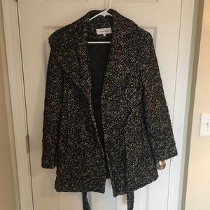 Gently used Calvin Klein coat size 6